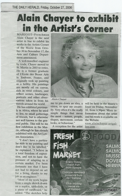 2006-10-27 Article DAILY HERALD