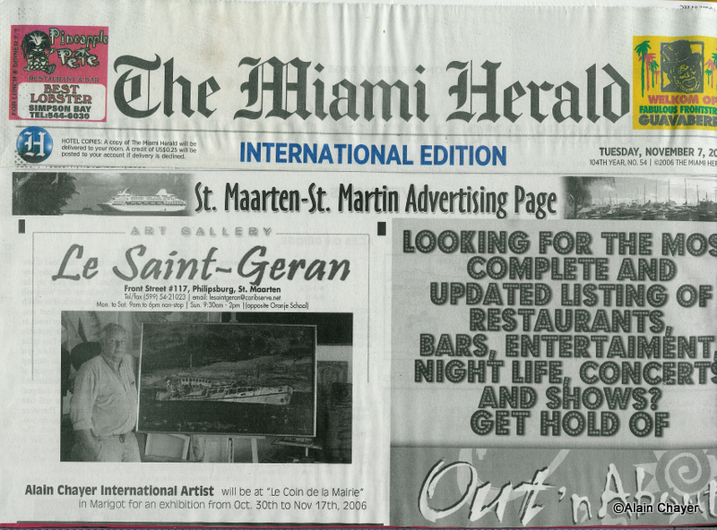2006-11-07 Article THE MIAMI HERALD