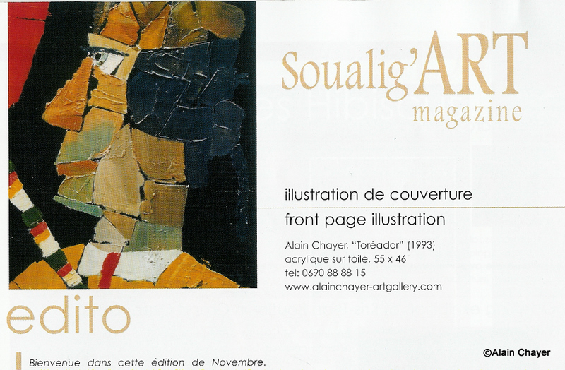 2006-11 Article info page couv. SOUALIG'ART