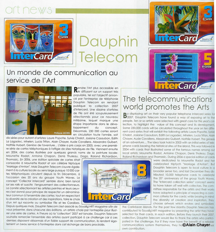 2007-01  Article p17 SOUALIG'ART