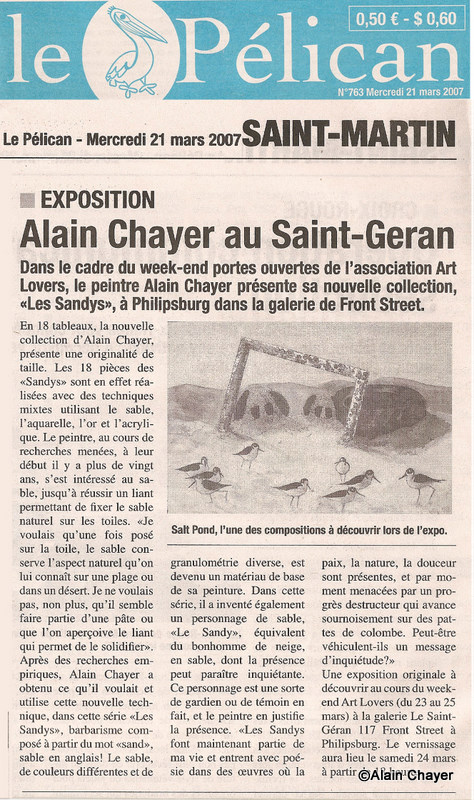 2007-03-21 Article Le Pelican