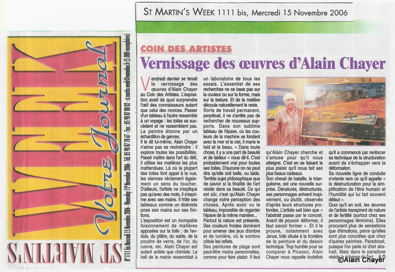 2006-11-15 Article ST MARTIN'S WEEK