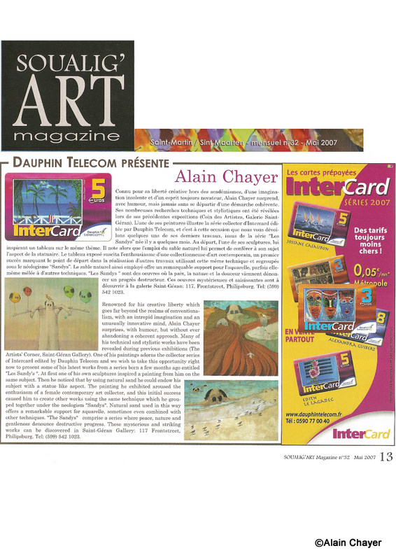 2007-05 ARTICLE DAUPHIN TELECOM SOUALIG'ART