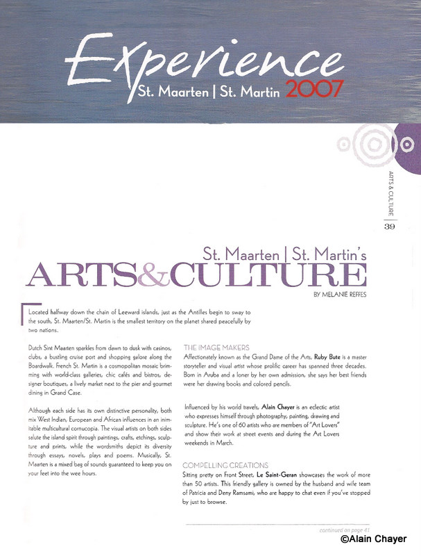 2007 Article EXPERIENCE p39